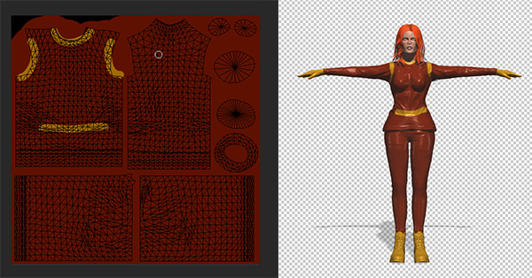 photoshop cc how to paint mesh