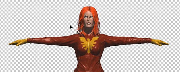 photoshop cc mesh painted edit