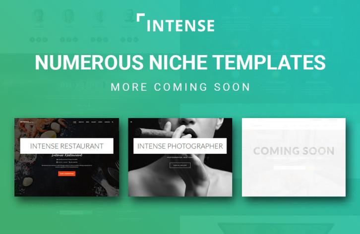 intense - niche templates