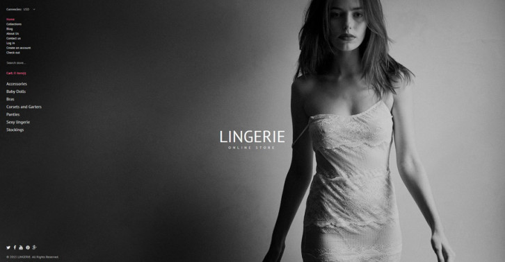 11-lingerie Shopify theme