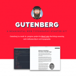 Gutenberg – Flexible and Web Typography Starter Kit