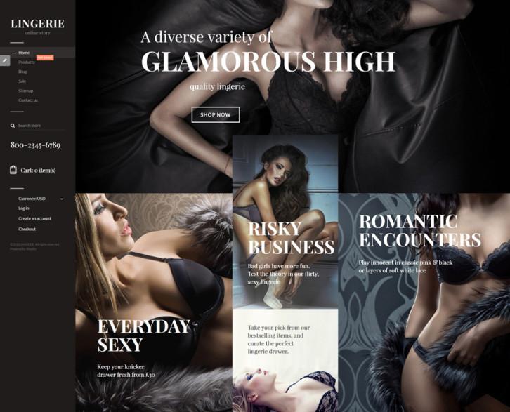 17-glamorous-lingerie Shopify theme