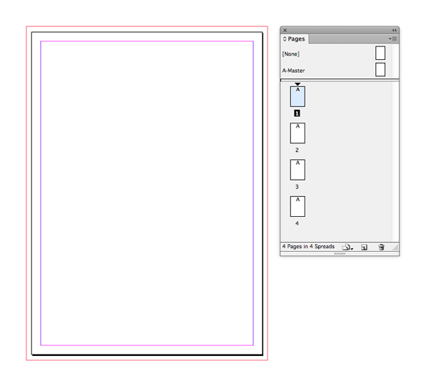 indesign document