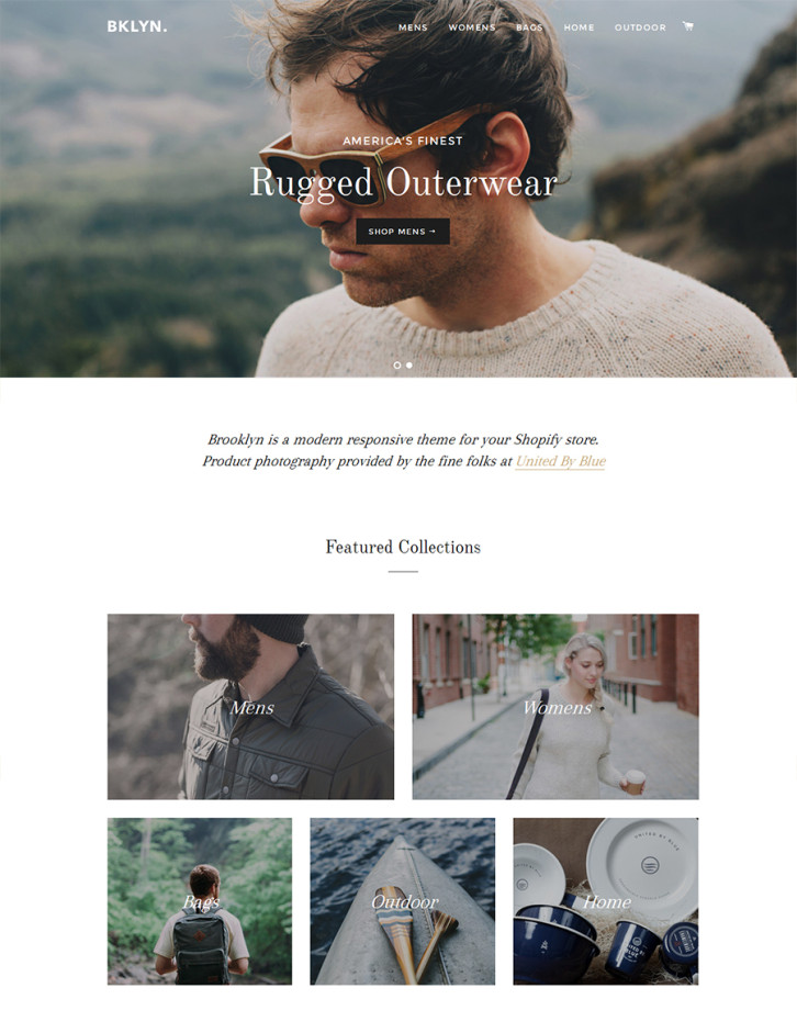 26-brooklyn free Shopify theme