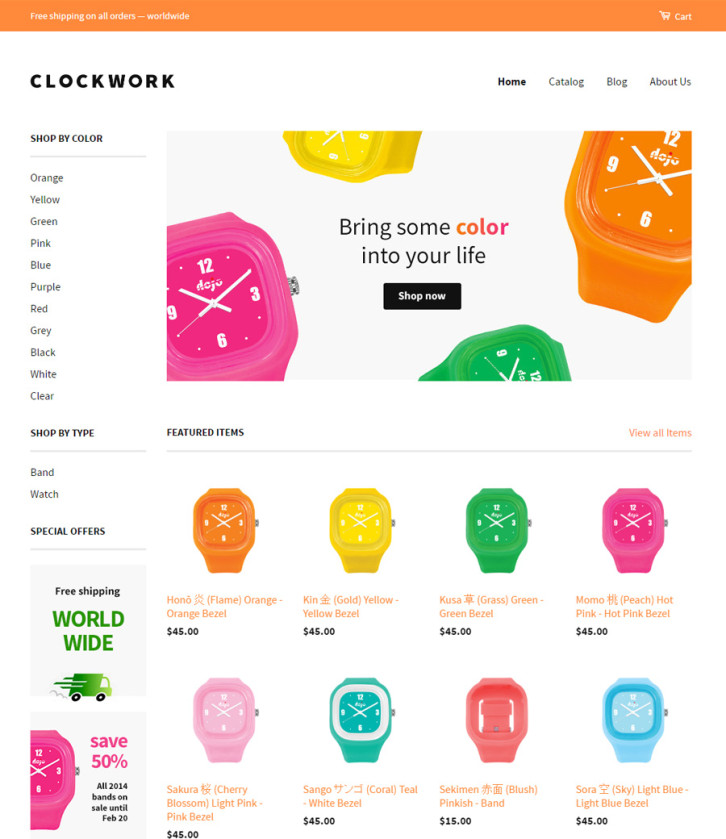 27-classic free Shopify theme