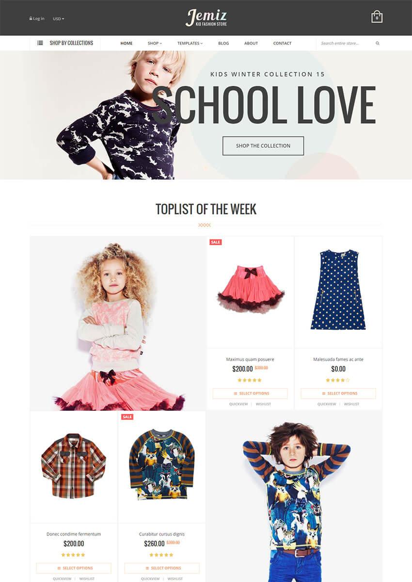Jemiz - Fashion Shopify Theme