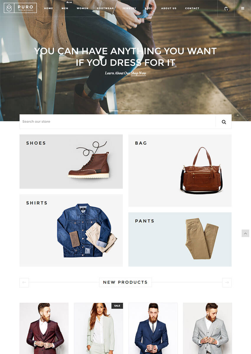 Puro Responsive Shopify Theme