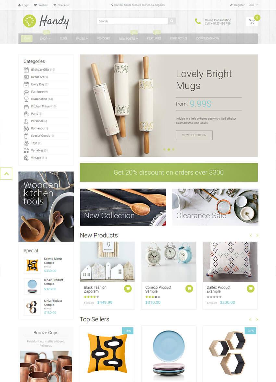 Handy Handmade Shop Shopify Theme
