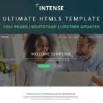 "Meet ""Intense"" – A Revolutionary Multipurpose HTML5 Template"