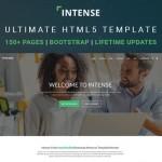 """Meet """"Intense"""" – A Revolutionary Multipurpose HTML5 Template"""