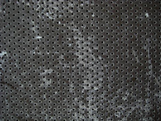 grill metal dots