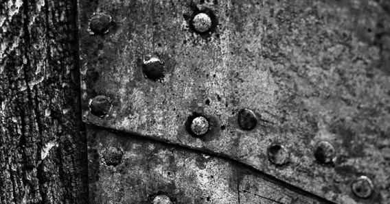 Metal Texture (Black and White)