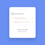 File Upload UI Inspiration