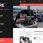 Freebie of the Month: Car RE – Auto Mechanic & Car Repair HTML Template