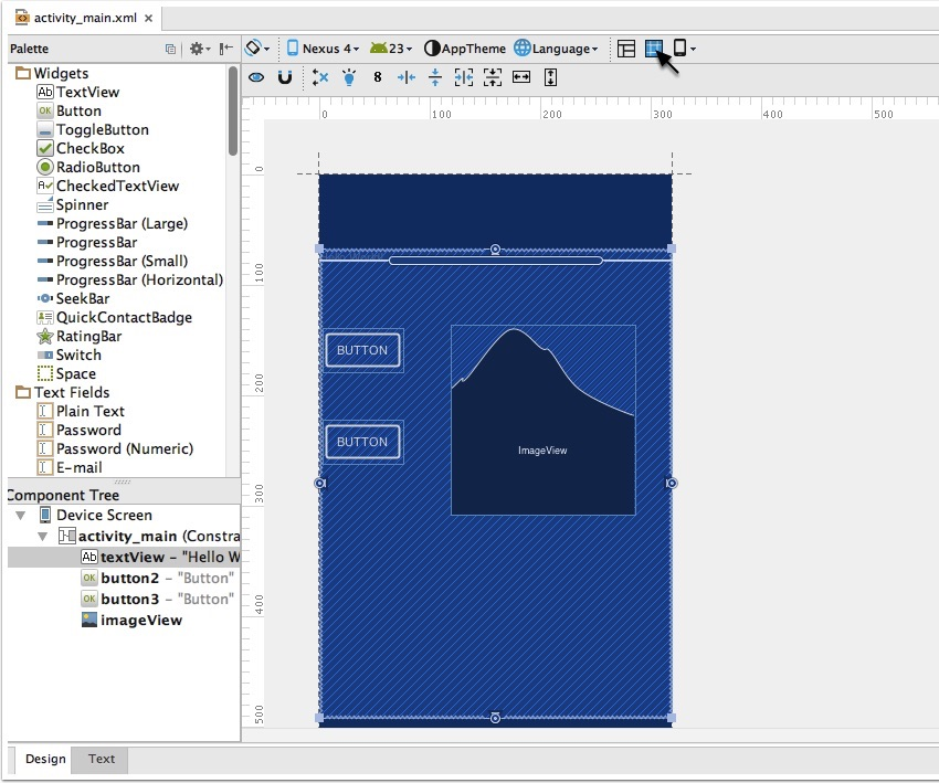 The New Blueprint Mode In Android Studio
