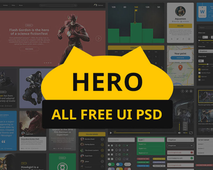 hero-free-ui-kit