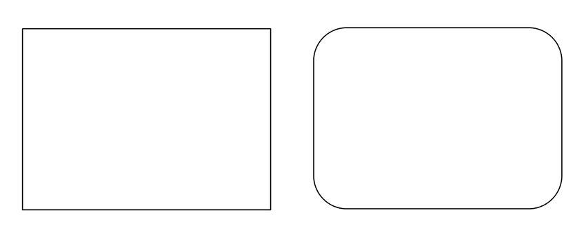 Create a quick rounded rectangle