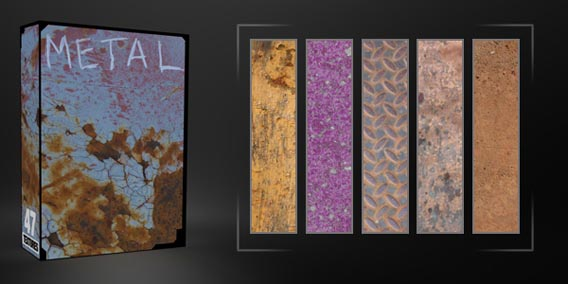 Metal Texture Pack – 47 Free Images