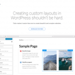 Create Complex Layouts with Tailor WordPress Plugin