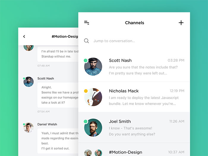 Introducing New Interface for Slack