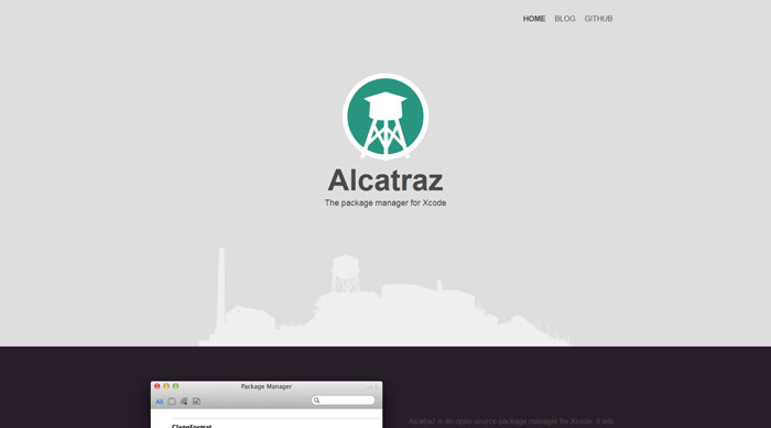 Alcatraz: The package manager for Xcode