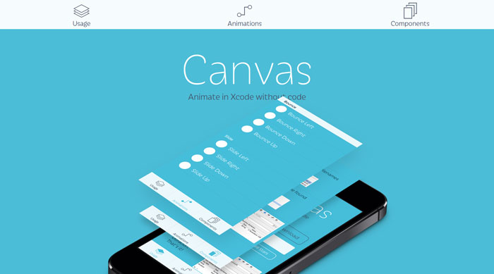 Canvas: Animate in Xcode without code