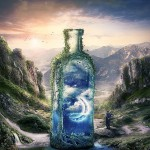 Create a Surreal and Magical Dream Bottle Landscape