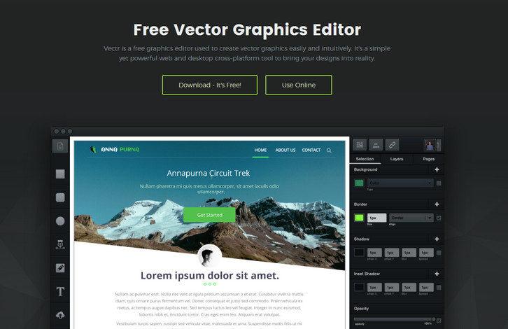 vector-graphics-editor