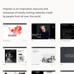 Httpster – A Curated Showcase of Really Hot Web Designs
