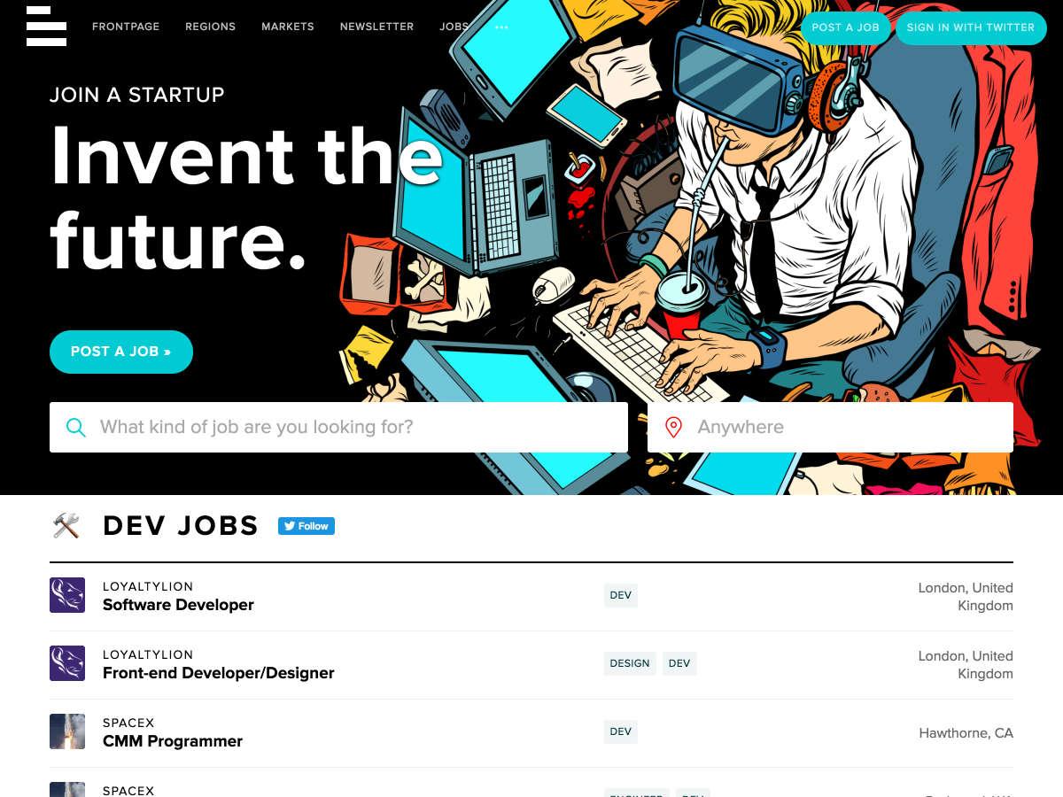 betalist jobs