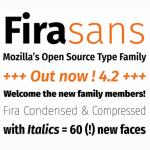 Fira Sans: A new free font family by Mozilla
