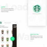 Starbucks: Sketch iOS app design concept
