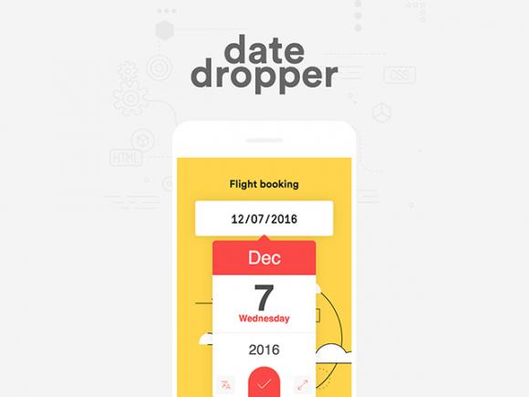 Datedropper 3.0: A powerful jQuery UI datepicker