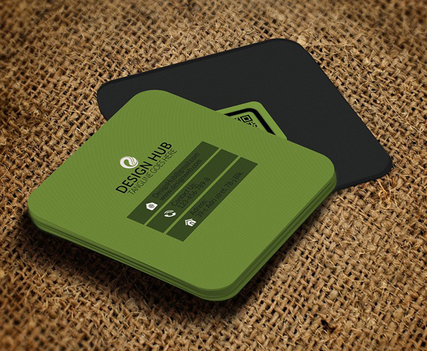 22 mini square business card psd templates design idevie square business card design template reheart Image collections