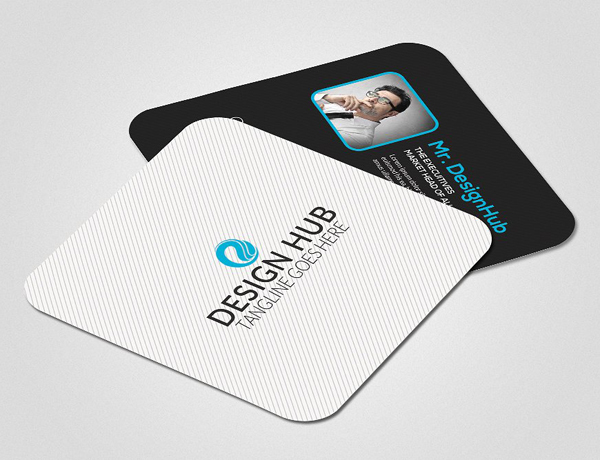 22 mini square business card psd templates design idevie mini social business card template reheart Image collections
