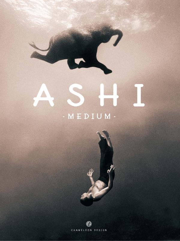 AShi Free Font
