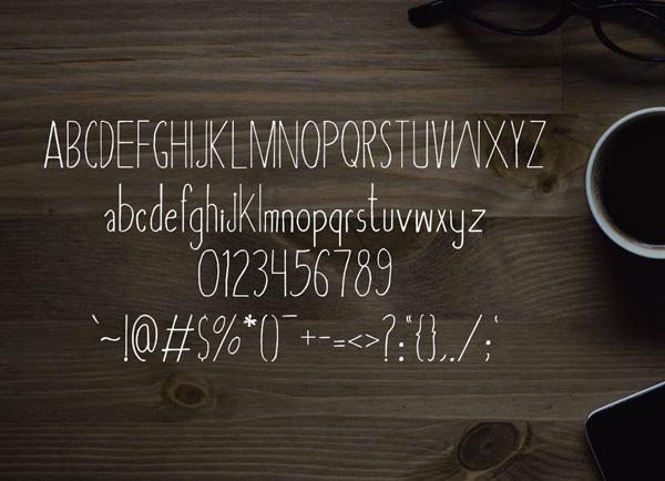 Asbah Serif Font