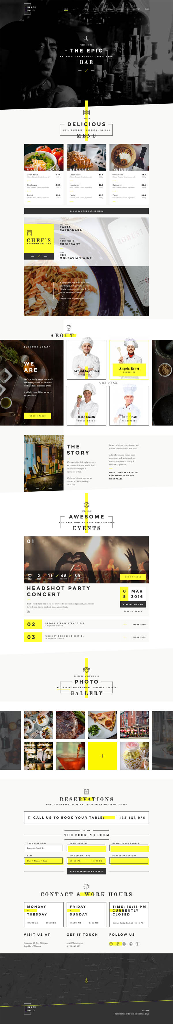 BarDojo - Epic Bar & Restaurant WordPress Theme