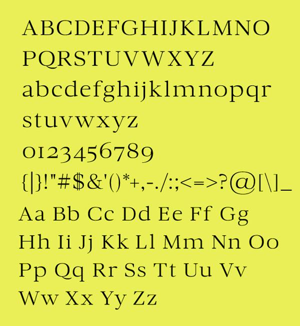 Chandelier Font & Letters
