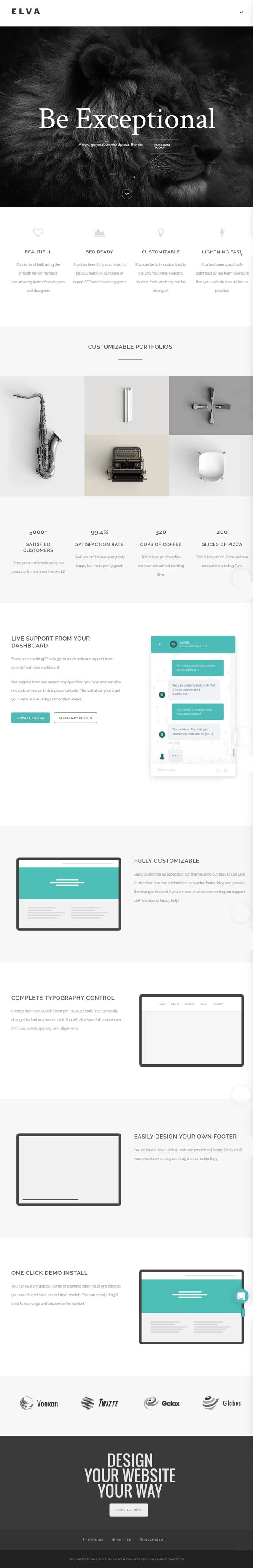 ELVA : Responsive Multi-Purpose WordPress & WooCommerce Theme