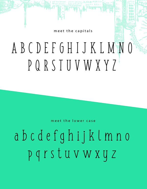 Fish & Chips (Serif and Handwritten) Font