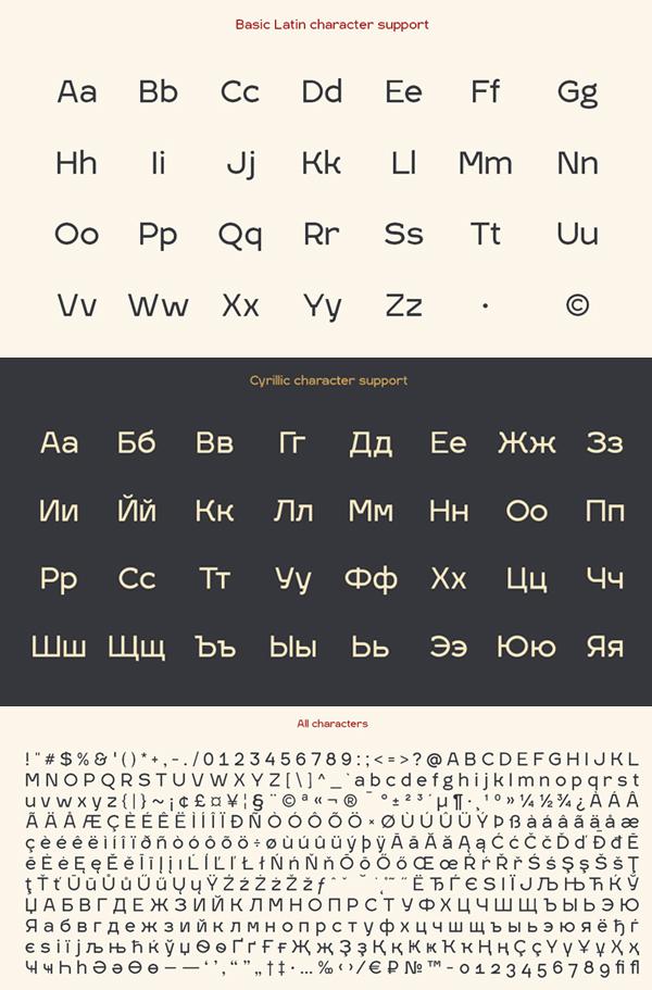 IGRA Font & Letters