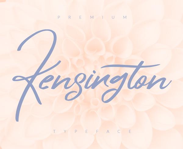 Kensington Free Font