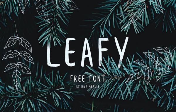 Leafy Free Font