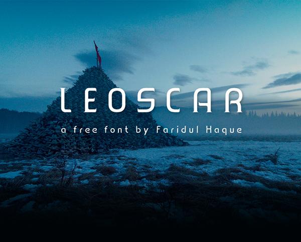 Leoscar Free Font
