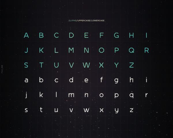 MU-TH-UR Font