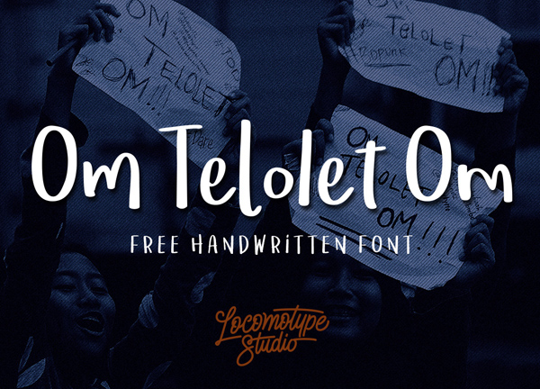 Om Telolet Om Free Font