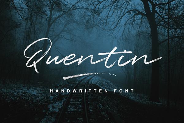 Quentin Script Free Font