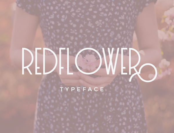 RedFlower Free Font