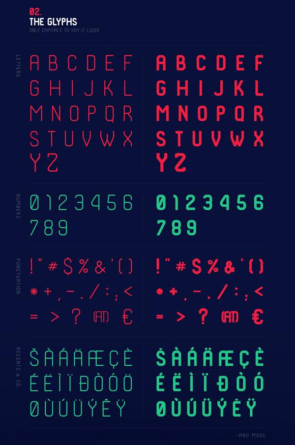 Shkoder 1989 Font